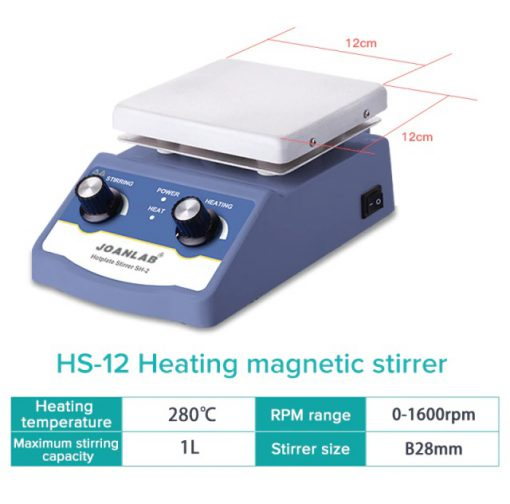 magnetic stirplate with heater